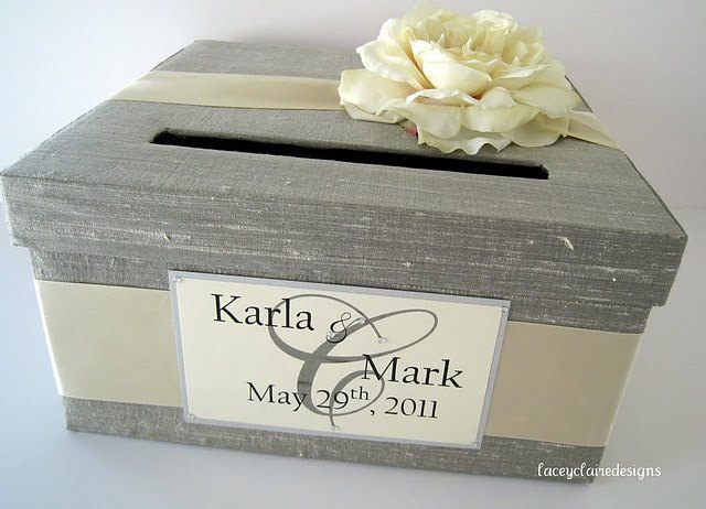 Inspiring Wedding Ideas inspiringweddingideas – Round Wedding Card Box