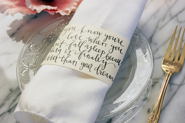 Wedding napkin rings ideas wedding decor ideas another small detail that your guests would appreciate wedding napkins they can match your solutioingenieria Choice Image