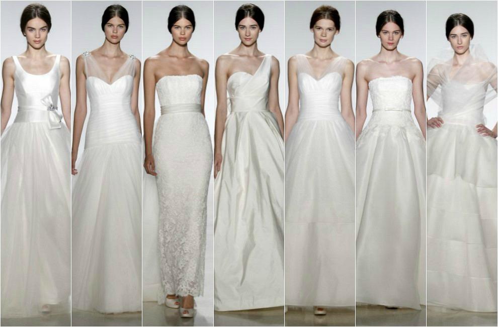 2014 new york fashion week wedding dress | inspiringweddingideas